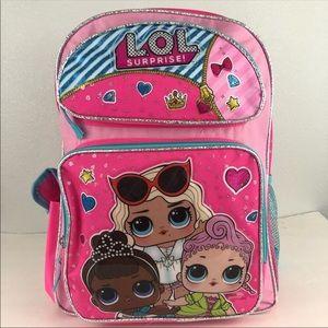 LOL Surprise Doll School Backpack